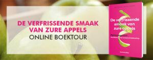 Online boektour 'De verfrissende smaak van zure appels'